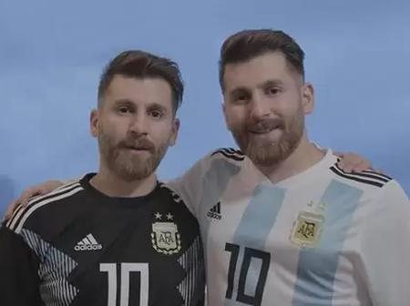 Call Yourself A Genius If You Are Able To Identify The Real Messi In This Picture