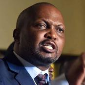 Moses Kuria Speaks Firm To Expose Fake News After These Allegations Emerged