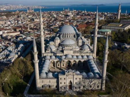 Stunning Pictures Of Mosques Around The World