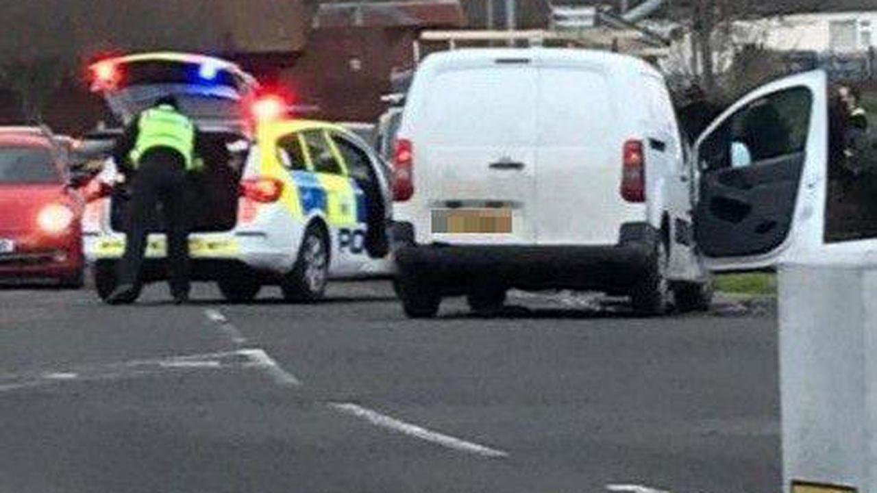 Owner of stolen motorbike tracks it down - before rider crashes into his van