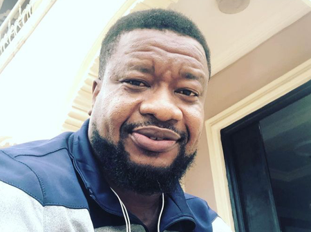 Meet Nollywood Actor Browny Igboegwu, His Wife and Only Beautiful Daughter(Photos)