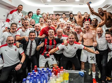 SEE The Message AC Milan Sent Inter After Beating Them 1:2 And Also The Reactions
