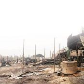 Nnewi market is destroyed during daylight, leaving traders in agony.