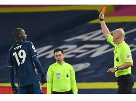 Mikel Arteta criticise Nicolas Pepe for 'unacceptable' Red Card against Leeds United