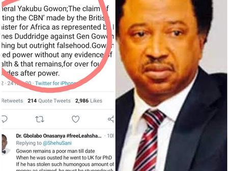 See What This Northern Senator Said On Gowon Looting That Makes Nigerian Blast Him.