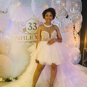 A beautiful birthday celebration for a queen, inside Enhle Mbali's birthday party