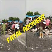 Fatal Accident: Bus Carrying Passengers In Rivers State Clashes With A Food Truck (Photos)