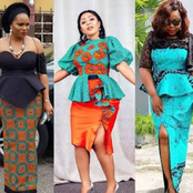 25 Executive Ankara Skirts And Blouses For Classy African Ladies (Photos)