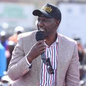 Ruto Sends This Message To People Of Murang'a After his Visit