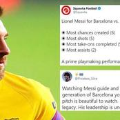 Twitter Erupts As Lionel Messi Turns Provider In Barcelona's 2-0 Win Against Osasuna
