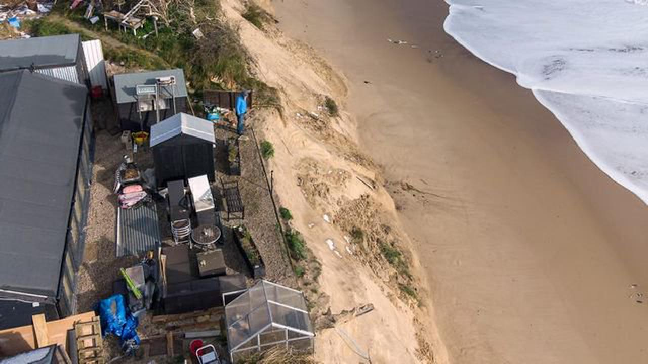 Coastal erosion: Help for clifftop homeowner as he considers 'plan Z'