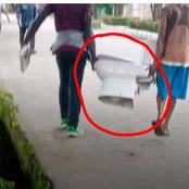 Checkout What These People Looted From A Senator's House That Got People Talking