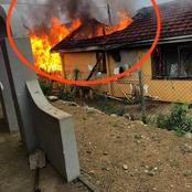 House Burnt Down By Mysterious Fire In KZN