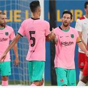 Football : grâce à un doublé de Messi, Barcelone bat Girona