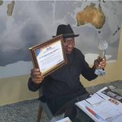 Goodluck Jonathan gets awarded again.