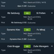 Super Sunday's Mega Winning VIP Matches To Stake On And Earn Hugely