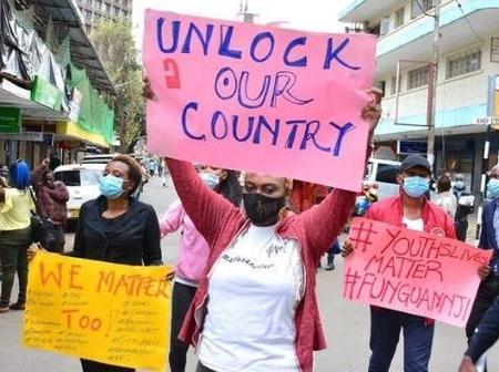 Kenyans to Protest Tommorrow Over Lockdown,
