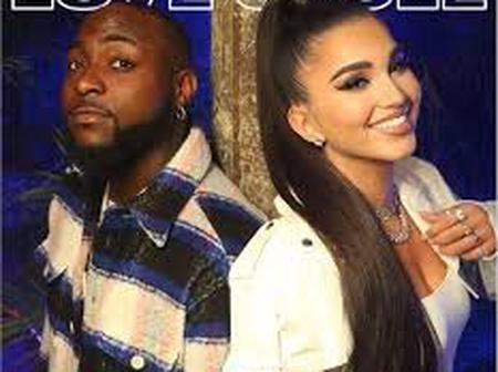American Singer Enisa Learns Pidgin From Davido (photos)