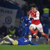 Arsenal and Chelsea Fans Clash Over Arsenal's Post on Martinelli's Humilation of Ngolo Kante