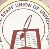 ASUU Strike; Good News, If You Are From Any Of These Universities, Get Ready To Resume.