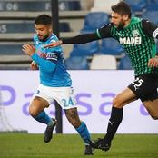 Napoli draw 3-3 against Sassuolo in their latest Serie-A fixture.(Opinion)