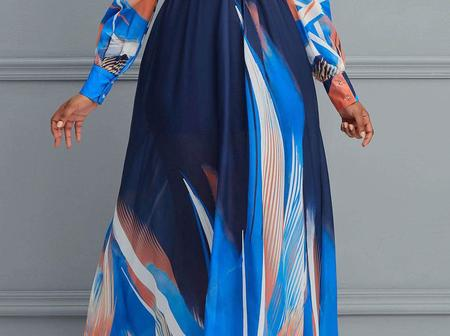 64 Trending Chiffon Gowns For Classy And Stylish Muslim & Christian Ladies!