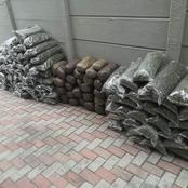 A large quantity of dagga was seized as well as passports, bank cards and three cellphones.