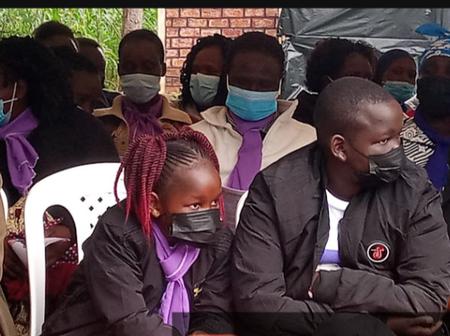 Mungu Wape Nguvu: Cute And Adorable Children Late Corporal Caroline Kangogo Has Left Behind