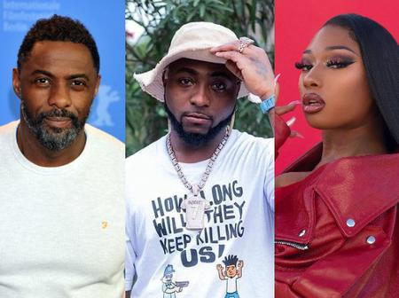 Davido reacts after Hollywood actor Elba drop new song with American rapper & Nigerian superstar
