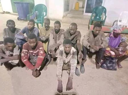 Police Repel Armed Bandits Attack, Secure The Release Of 11 Kidnapped Victims In Zamfara State.