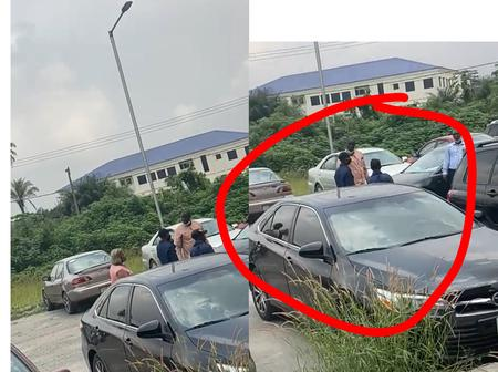 Lecturers furious as FUTO students occupies their parking space with expensive Cars (Video)