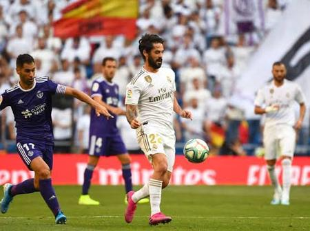 Real Madrid Faces Huge Injury Blow As They Prepare To Face Liverpool On Wednesday
