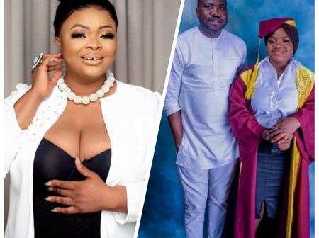 Actress Dayo Amusa Celebrates Her Younger Sister Who Just Graduated From Law School.