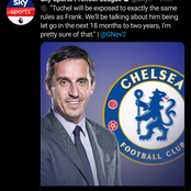 After Frank Lampard was dismissed today, Check-out what Ex Man Utd player said about the new manager