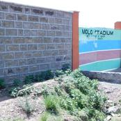 Rehabilitation of the perimeter wall around the Molo Stadium in Molo Sub-county has been completed