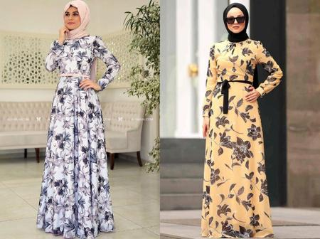 Chiffon Gowns For Fashionable Muslim Sisters
