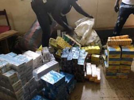 Sécurité : la police fait une importante saisie de produits prohibés à Daloa