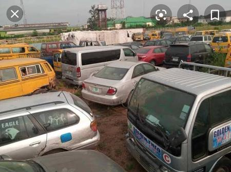 Lagos State Government auctions 83 impounded vehicles