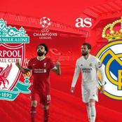 Liverpool vs Real Madrid Predicted Squad Line up and Stats