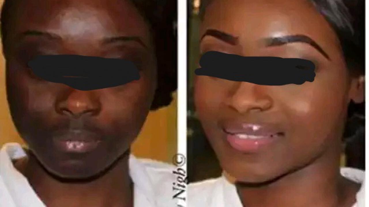 Quand le make up trompe la vigilance des hommes, voici a quoi ça ressemble,(photos)