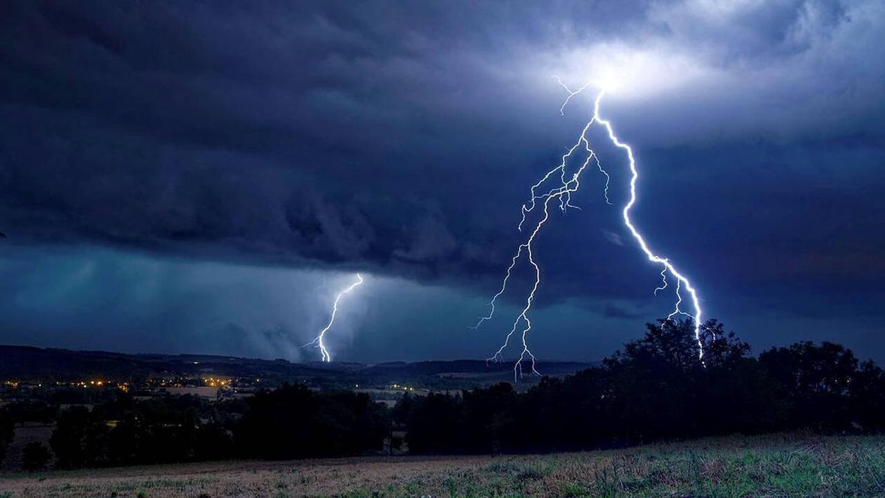 EN IMAGES. Trombes d'eau, routes inondées… Le Gard en proie à de violents orages