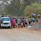 Look What Zimbabweans Do To A Border Fence