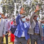 Leaders Who Graced Matiangi's Church Fundraising Ceremony in Nyamira