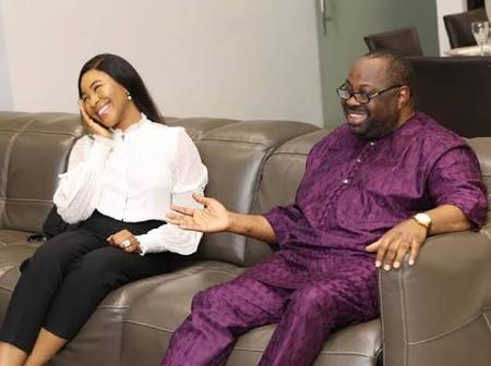 Reactions As Dele Momodu Flaunts BBnaija Erica Just A Day To Her Birthday