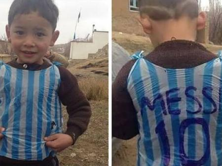 A Poor Boy Played Inside A Garbage Bag. This Is What Happened When Leo Messi Saw The Photo
