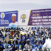 Chad President Campaigns For Sixth Term After 30 Years In Power.