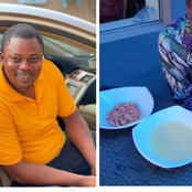Reactions As Yoruba Actor Was Spotted Eating Weird Food Combination In New Video