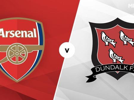 Arsenal vs Dundalk Team News And Predicted Lineup