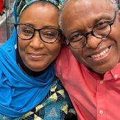 Romantic Photos Of Governor El-Rufai And His First Wife Who Is A Stunning Beauty.