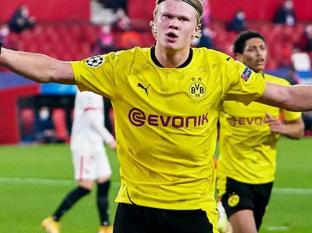 Dortmund Name Their Blockbuster Price For Haaland As Chelsea, Man City, Man Utd Are All Interested